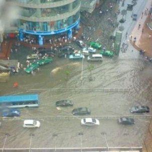 北京暴雨过后车辆赔偿诸多问题引争议